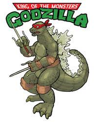 Cowabungodzilla: Teenage Mutant Ninja Kaiju by WithintheMechanism