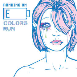 Running on E: Colors Run - Album Cover by WithintheMechanism