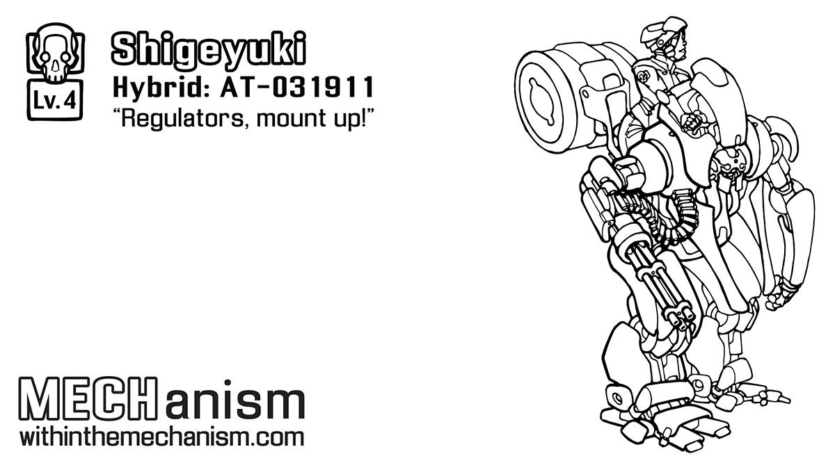 Shigeyuki: AT-031911R by WithintheMechanism