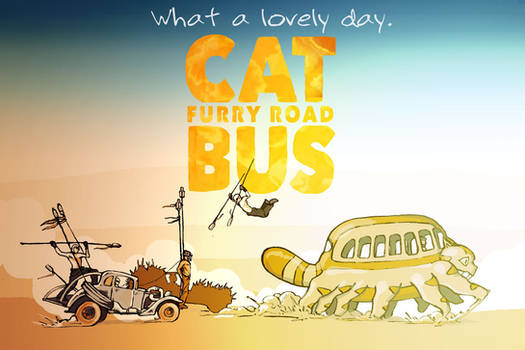 Cat Bus: Furry Road (colored)