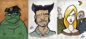 Comicpalooza Sketches