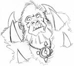 Beast-Man Sketch
