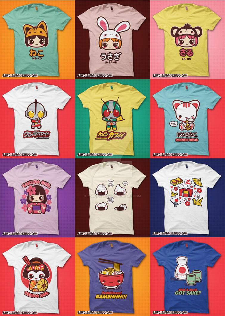 Kawaii Japan Shirt by saiko-raito
