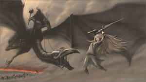 Eowyn and the Nazgul
