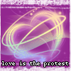 love is the protest icon by zephyrofgod