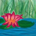 Padparadasha Lotus