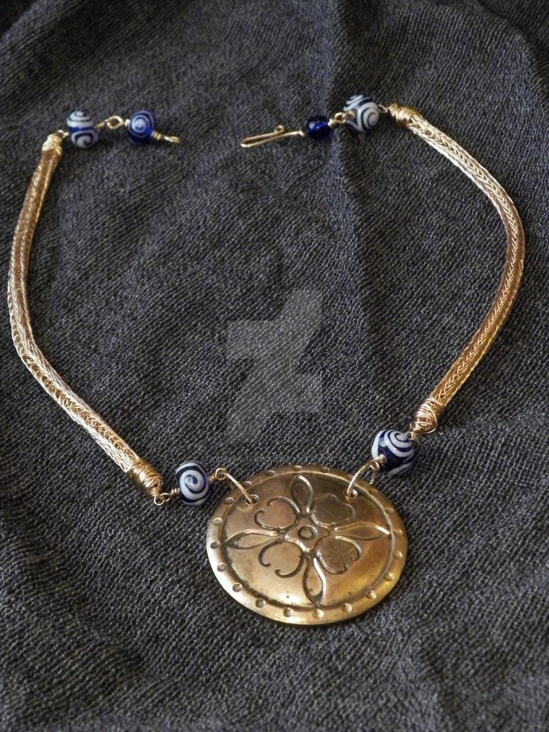 Calon Cross Medallion by zephyrofgod