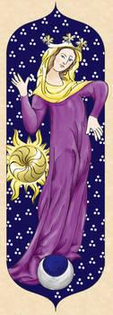Our Lady of Calontir by zephyrofgod