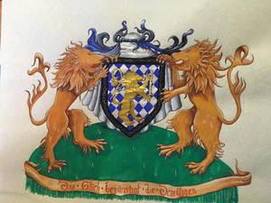 Thaddeus' Achieivement of Arms