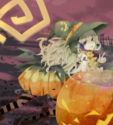 Pumpkin Girl by Michiyone