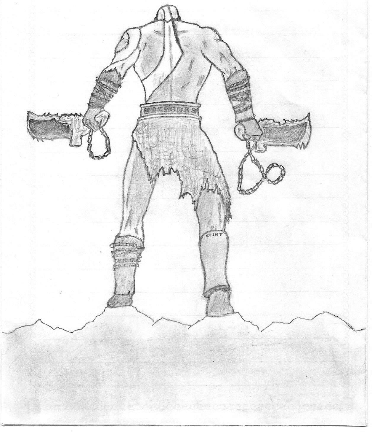 Kratos God Of War By Deathrebellion On Deviantart
