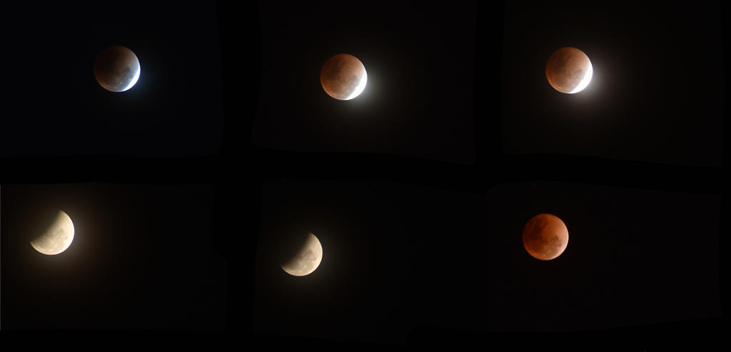 Moon eclipse 2018!  (shoot from Asia region) by BlacksmithOWY
