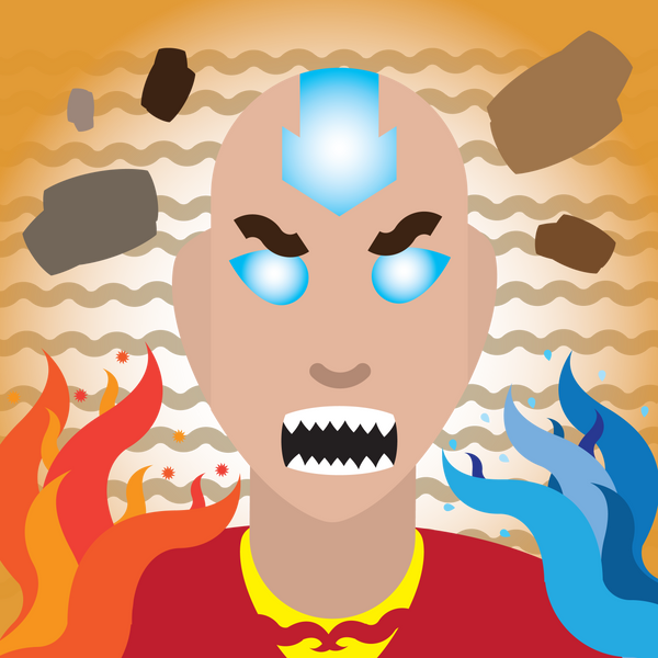 Movie Avatar State Aang: Avatar State Aang By RadicalEdvard On DeviantArt