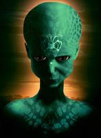 alien by the4Dcreative