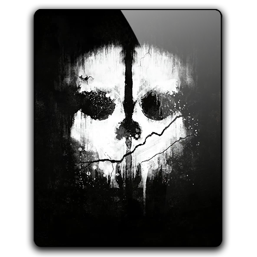 Call of Duty Ghost Icon Call of Duty Ghosts v2 by