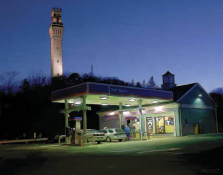 Gas Station Monument