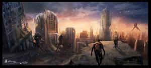 futurecity by dennis-yeung