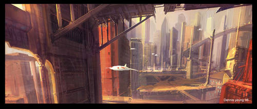 city by dennis-yeung