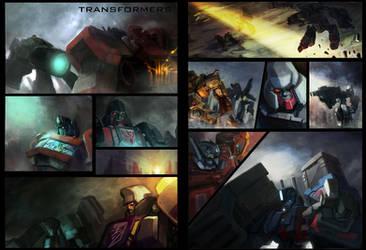 transformer comics by dennis-yeung