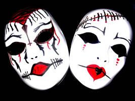 Masks by EvilQueen84