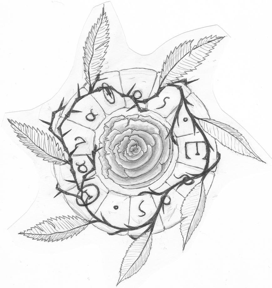 Tattoo Sketch Eros Thanatos