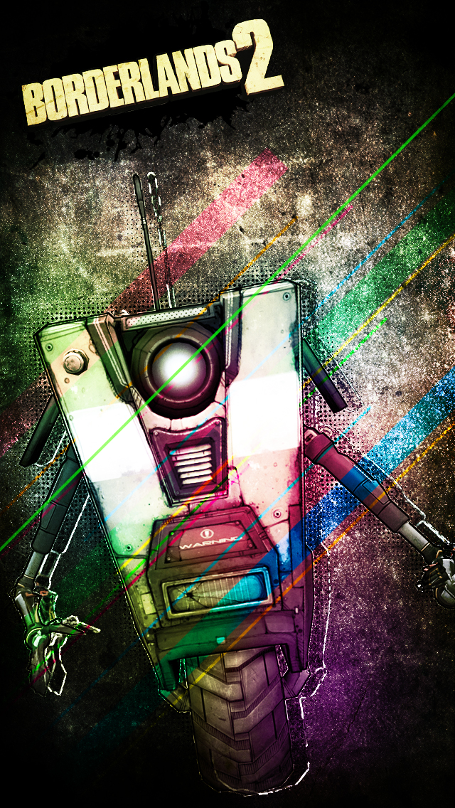 Claptrap - Mobile Wallpaper by VoidF0x