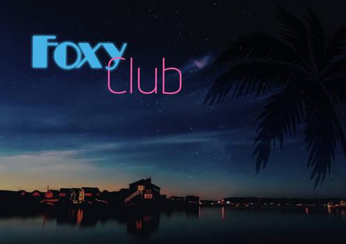 Foxy Club Poster