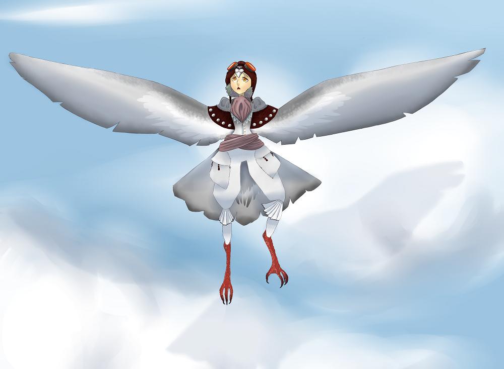 First flight by ravengurl11