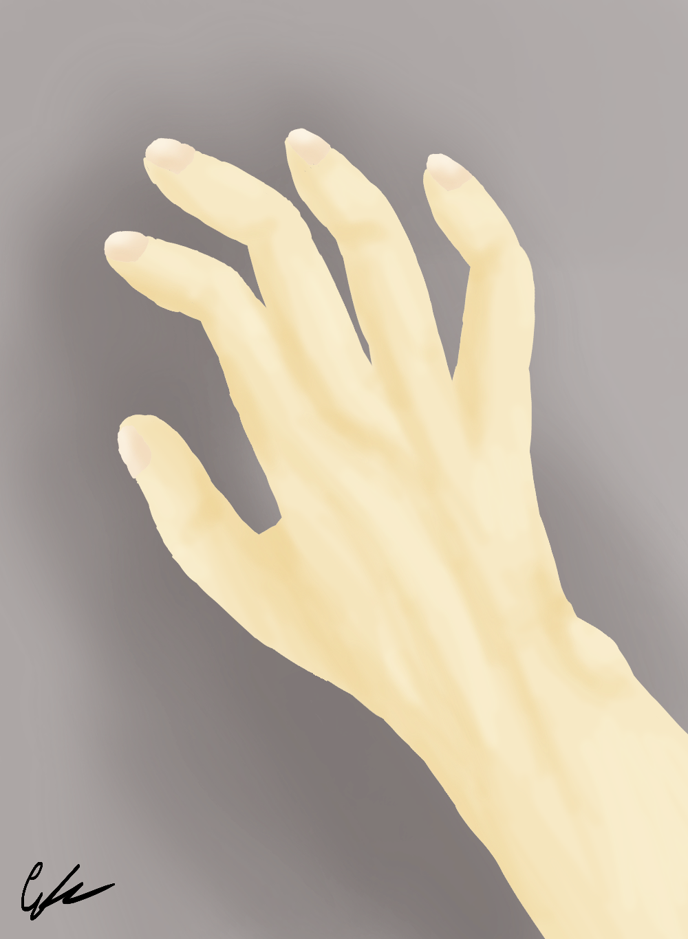 Non-bloody hand by QcumberQueen on DeviantArt