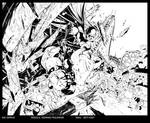 BATMAN: DETECTIVE COMICS ANNUAL #1 Try out Inks