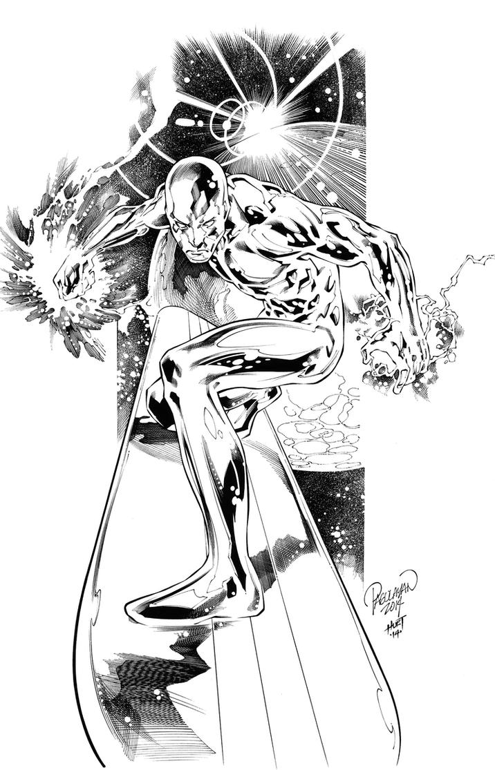 SILVER SURFER by knockmesilly