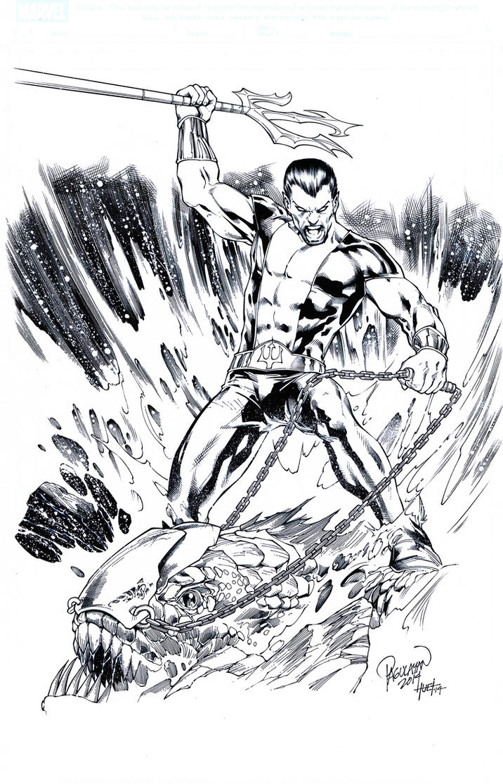 Namor by knockmesilly