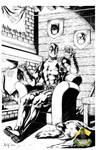 Deadpool chillin