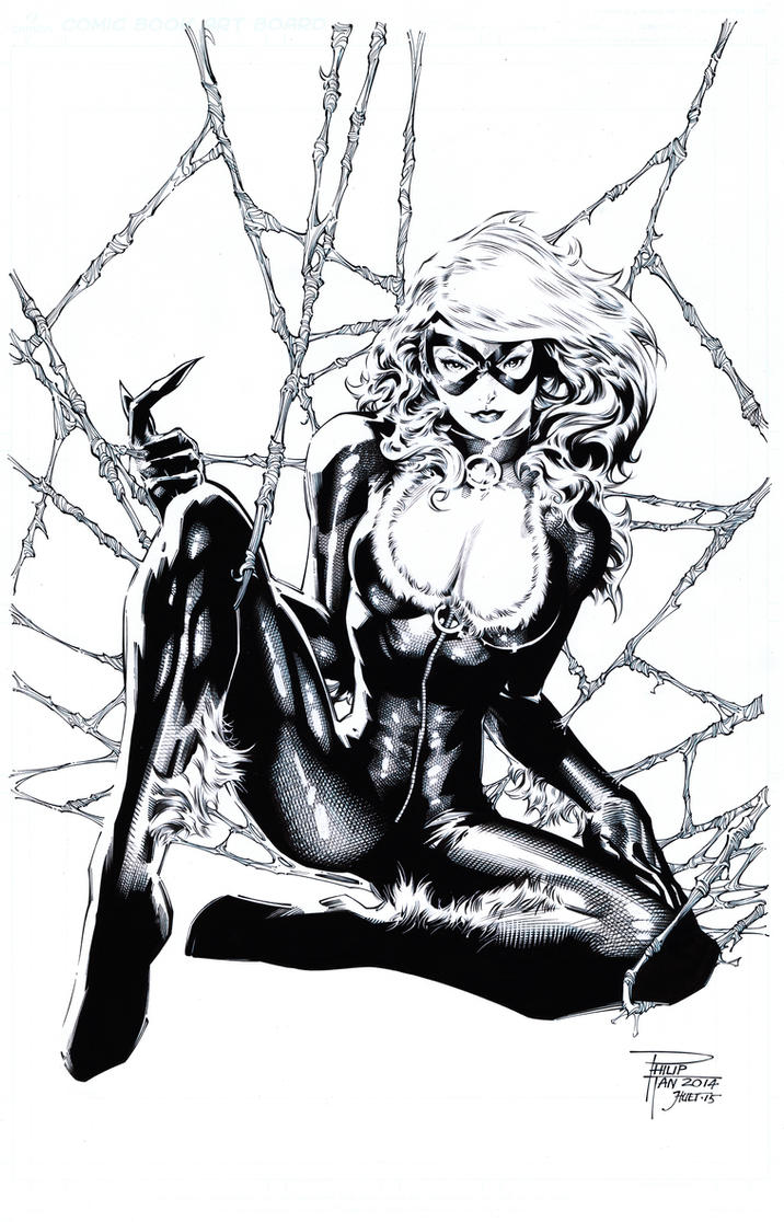 Black Cat by knockmesilly