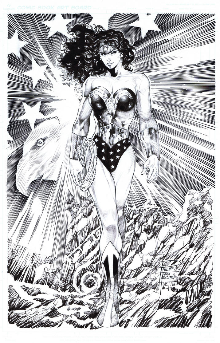 Classic Wonder Woman by knockmesilly