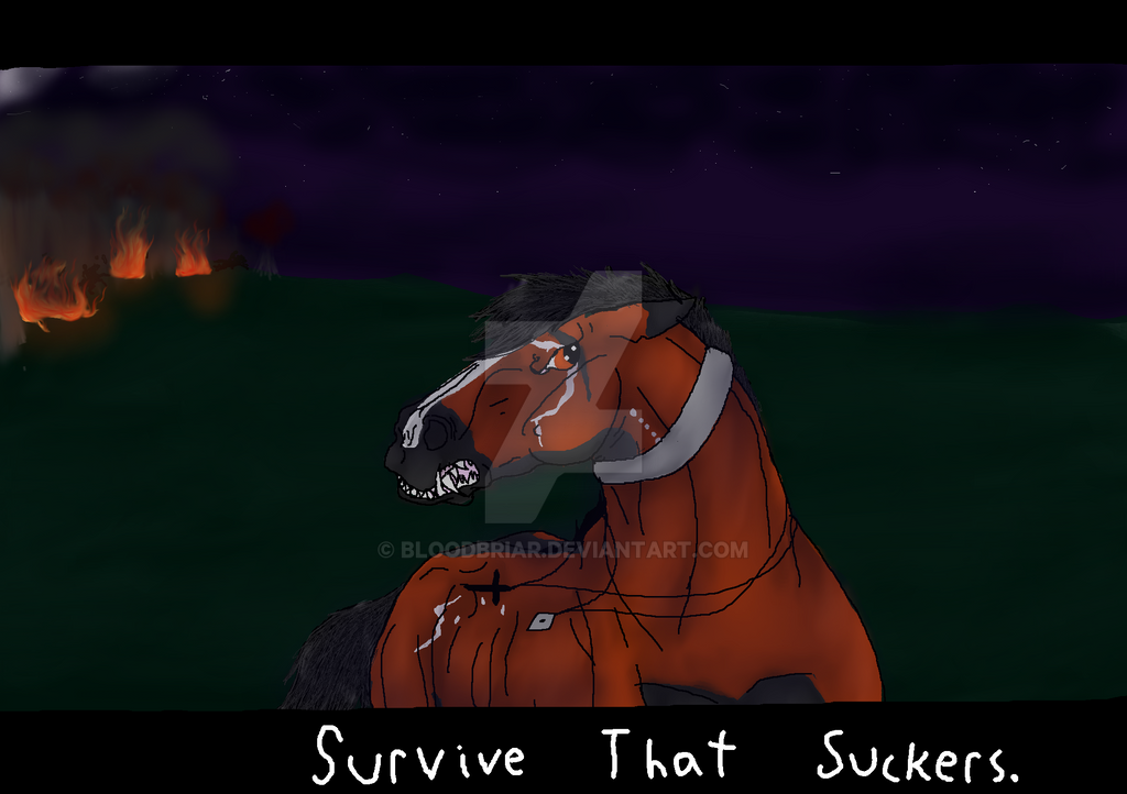 Stupidity shall be punished. by BlackMare234