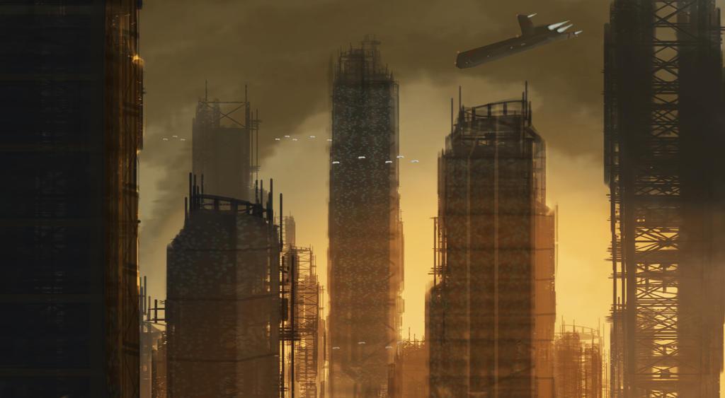 The city of New Bangkok, Year 2133