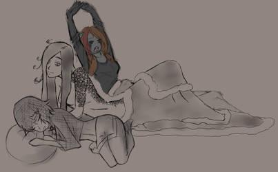 [Collab] Sleepover