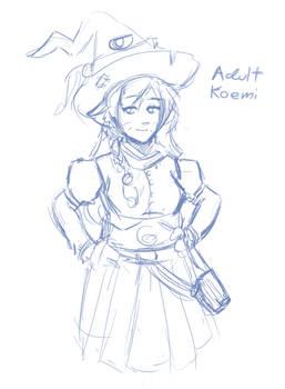 [Fanart] Adult Koemi
