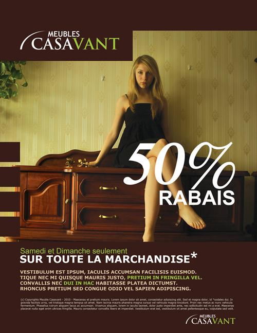 Meubles Casavant Ad by Forza27