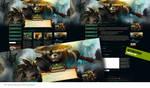 WOW Mists of Pandaria Wordpress Theme by Forza27