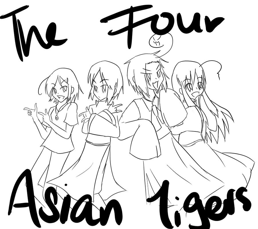 Asian four tigers Orsolya