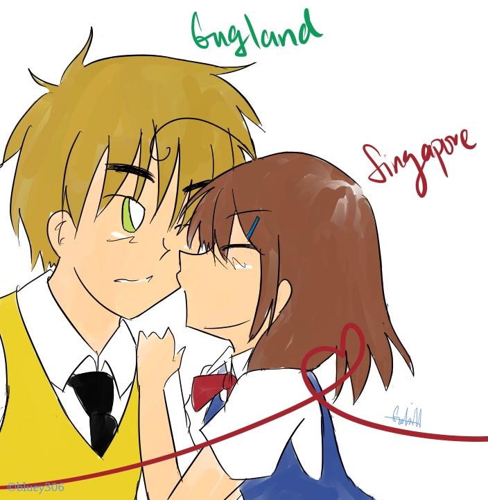 Manga Online Malaysia: APH: England X Singapore By Brewcha On DeviantArt
