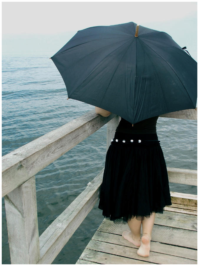 Girl with umbrella by poezja - Avatar Bulmaca
