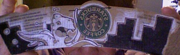 Starbucks Sleeve by BillWatterson