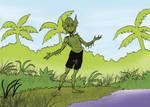 MYTHS AND LEGENDS - YACURUNA - Illustration 01