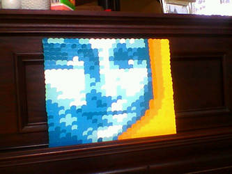 Paint Chip Mona Lisa