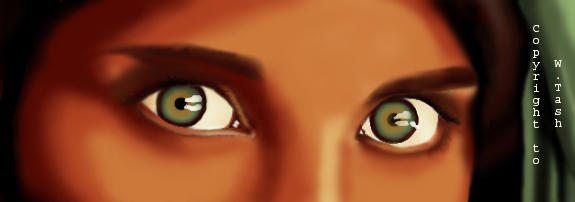 Afgan eyes