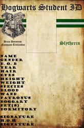 Slytherin Hogwarts ID by HogwartsLover