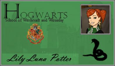 Lily Luna Potter Portable ID by HogwartsLover